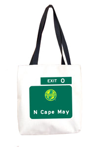 N Cape May (Exit 0)  Tote