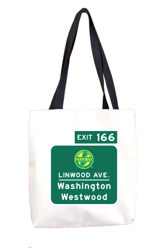 Linwood Ave / Washington / Westwood )Exit 166) Tote