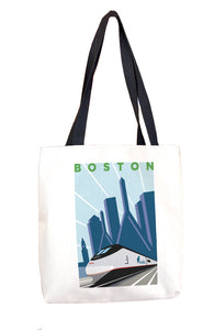 Acela (Boston) Tote Bag