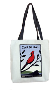 Cardinal (NYC to Chicago) Tote Bag