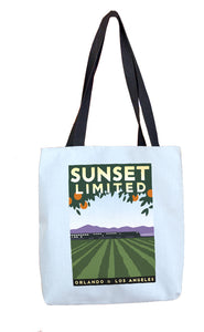 Sunset Limited (Orlando to LA) Tote Bag