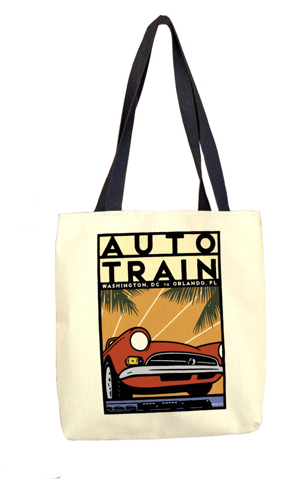 Auto Train (DC to Orlando) Tote Bag