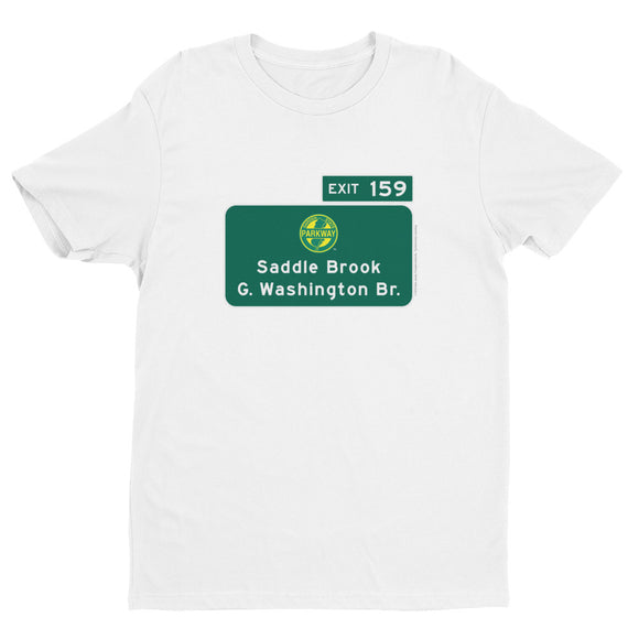 Saddle Brooke / George Washington Bridge / Exit 159 T-shirt