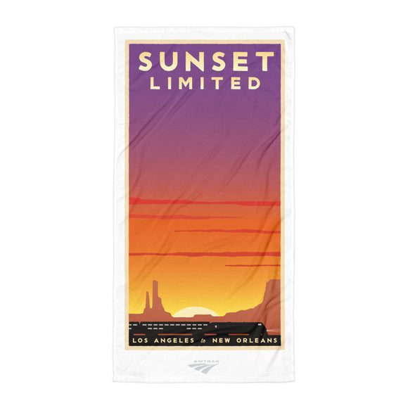 Sunset Limited (LA to New Orleans) Towel