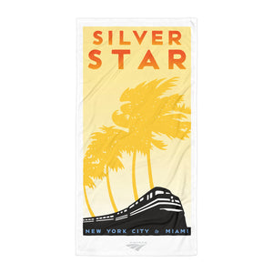 Silver Star (NYC to Miami) Towel