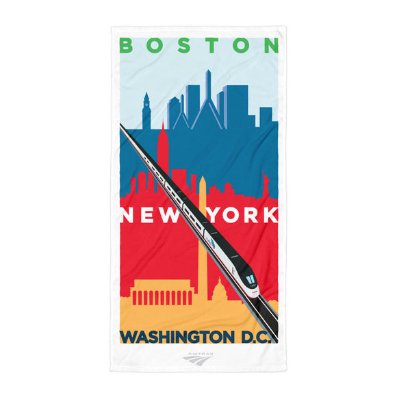 Acela (Boston-NY-DC) Towel