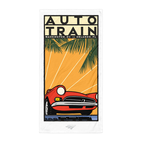 Auto Train (DC to Orlando) Towel