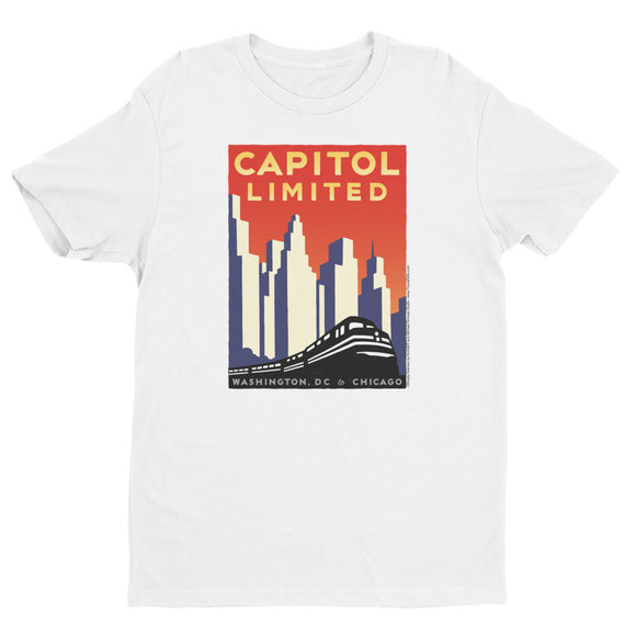 Capitol Limited (Washington DC to Chicago) T-shirt
