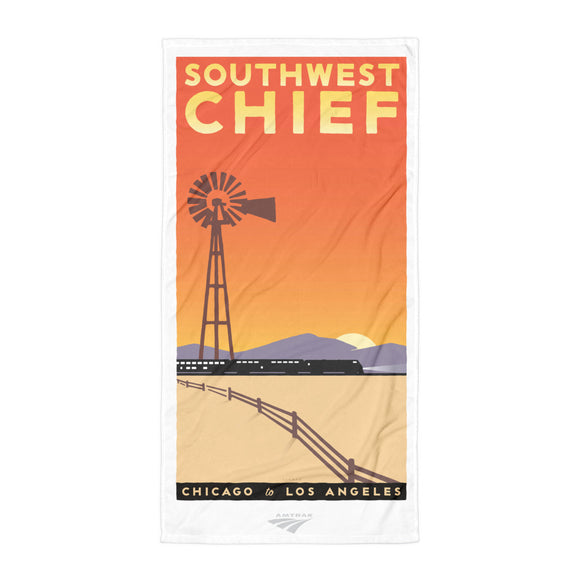 Southwest Chief (Chicago to LA) Towel