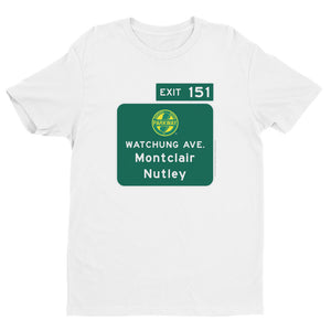 Watchung Avenue / Montclair / Nutley / Exit 151 T-shirt