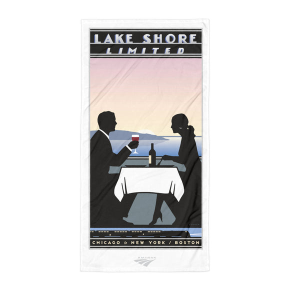Lake Shore Limited (Chicago-NY-Boston) Towel