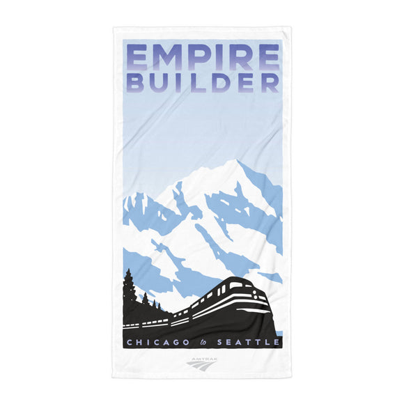 Empire Builder (Chicago to Seattle) Towel