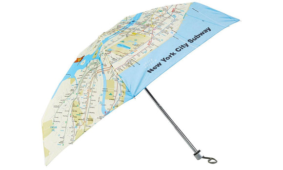 Subway Map Genie Umbrella