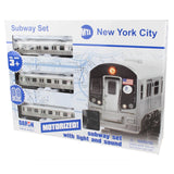 MTA Motorized New York Subway Train Set
