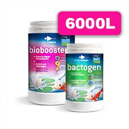 Aquatic Science Qualité d'eau PACK BIOBOOSTER 6000 + BACTOGEN 6000 90336827 B02545741515