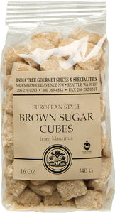 IndiaTree Sugar Cube Brown 12oz