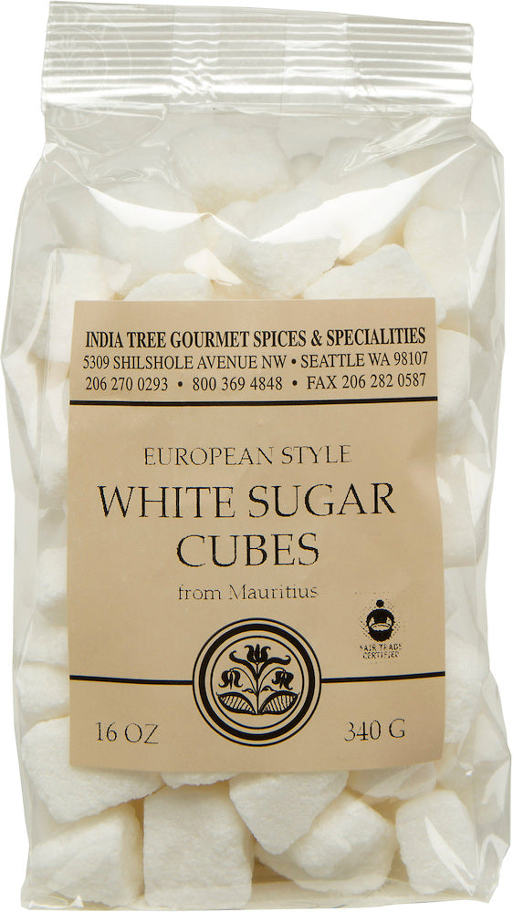 IndiaTree Sugar Cube White 12oz