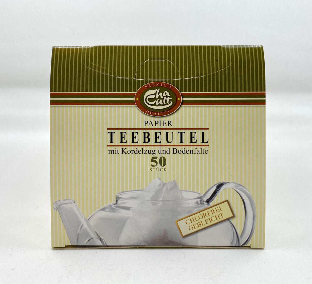 ChaCult Paper Tea Filter Bags 50ct