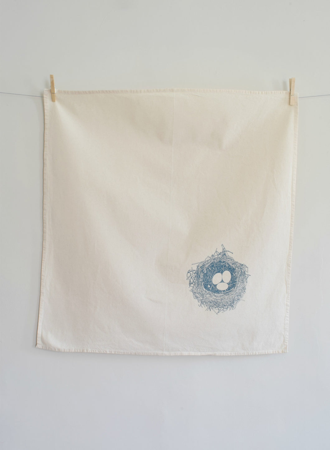 Bird's Nest Tea Towel