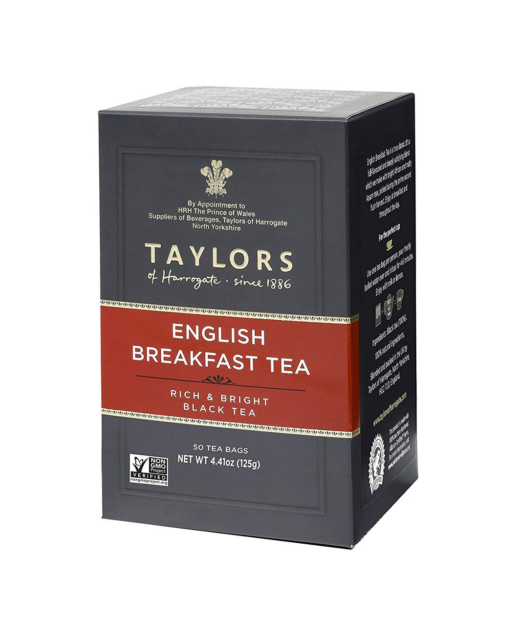 Taylors English Breakfast 50ct Bags