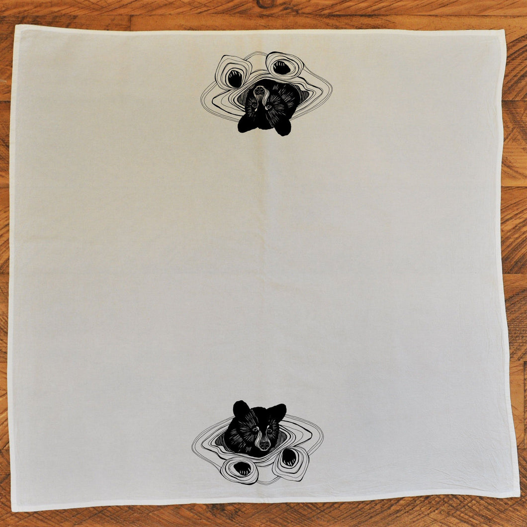 Tea Towel Bear