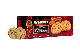Walkers Salted Caramel & Milk Chocolate Chunk Shortbread