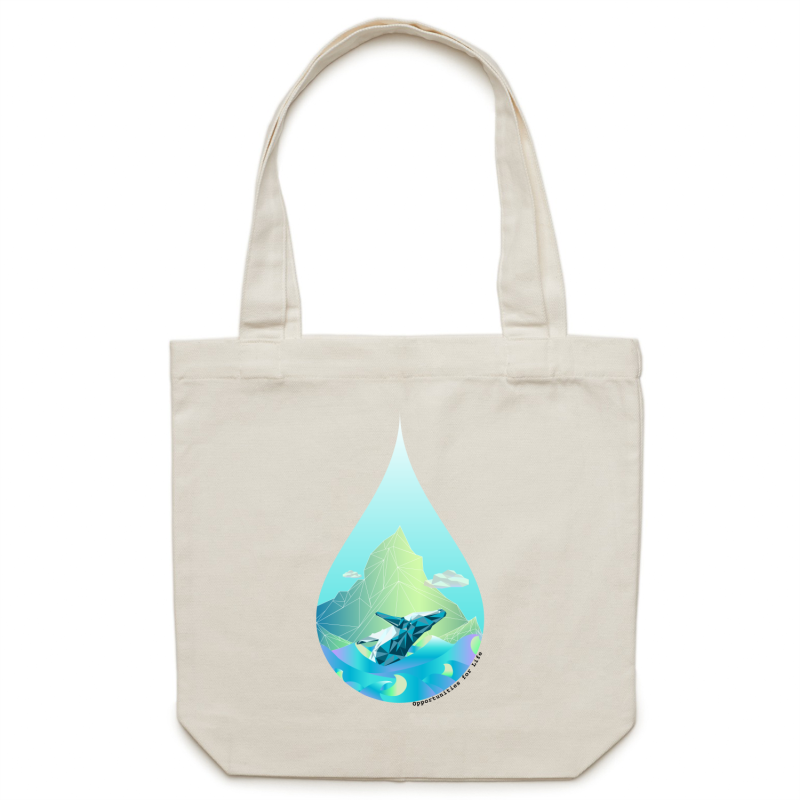 GEO Canvas Bag