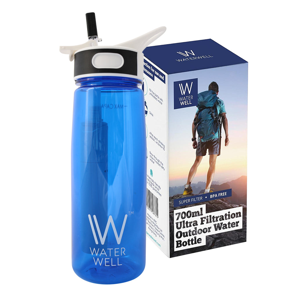 700ml Travel Filter Water Bottle