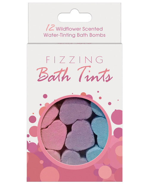 Fizzing Bath Tints Bath Bombs - Pack Of 12