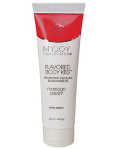 My Joy Collection Flavored Body Kiss - White Cherry