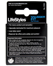 Lifestyles Snug Fit Condom - Pack Of 3