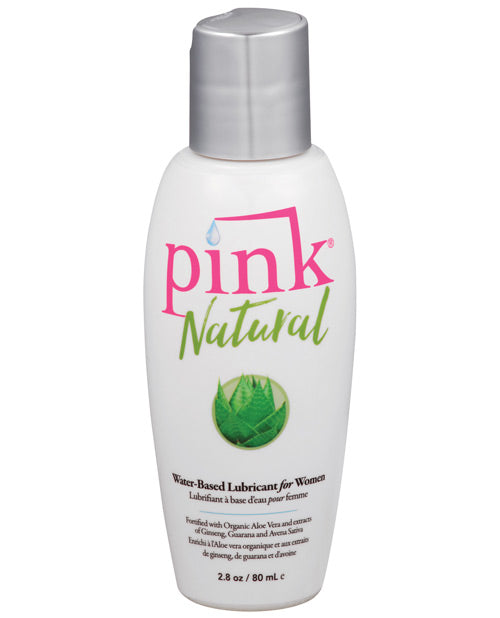 Pink Natural Water Based Lubricant For Women - 2.8 Oz