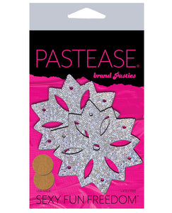 Pastease Glitter Snow Flake - Silver O-s