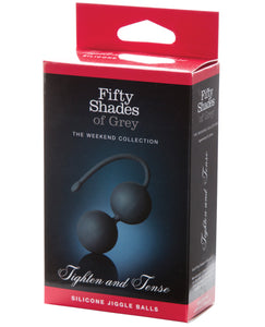 Fifty Shades Of Grey Tighten & Tense Silicone Jiggle Balls