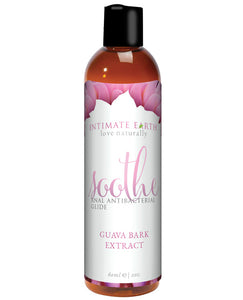 Intimate Earth Soothe Anti-bacterial Anal Lubricant - 60 Ml