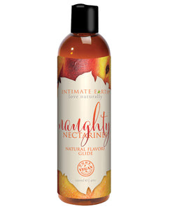 Intimate Earth Natural Flavors Glide - 120 Ml Naughty Nectarines