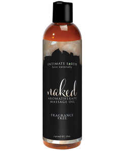 Intimate Earth Massage Oil - 240 Ml Naked