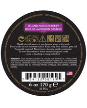 Kama Sutra Ignite Massage Candle - Island Passion Berry
