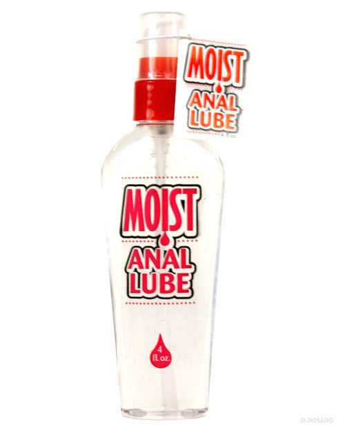 Moist Anal Lube - 4 Oz Bottle