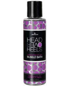 Sensuva Head Over Heels Bubble Bath - 8 Oz Pomegranate-fig-coconut-plumeria