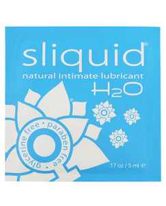 Sliquid Naturals H2o - .17 Oz Pillow