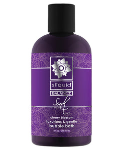 Sliquid Balance Soak - 8.5 Oz Cherry Blossom