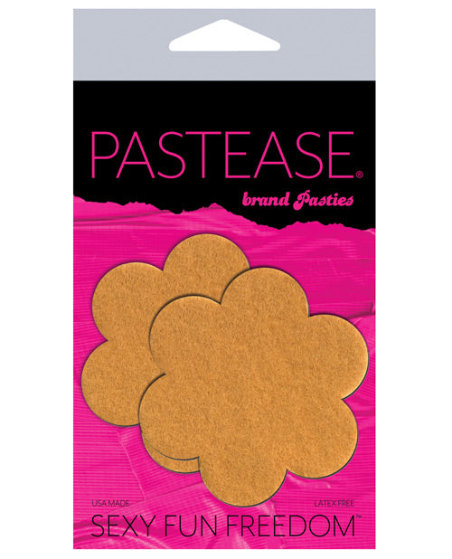 Pastease Vegan Suede Flower - Nude O-s