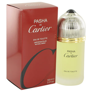 PASHA DE CARTIER by Cartier Eau De Toilette Spray 3.3 oz for Men