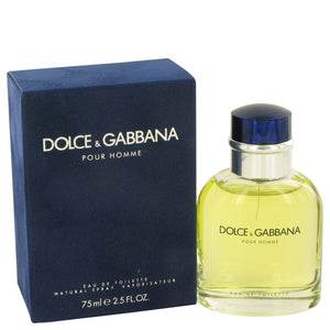 DOLCE & GABBANA by Dolce & Gabbana Eau De Toilette Spray 2.5 oz for Men