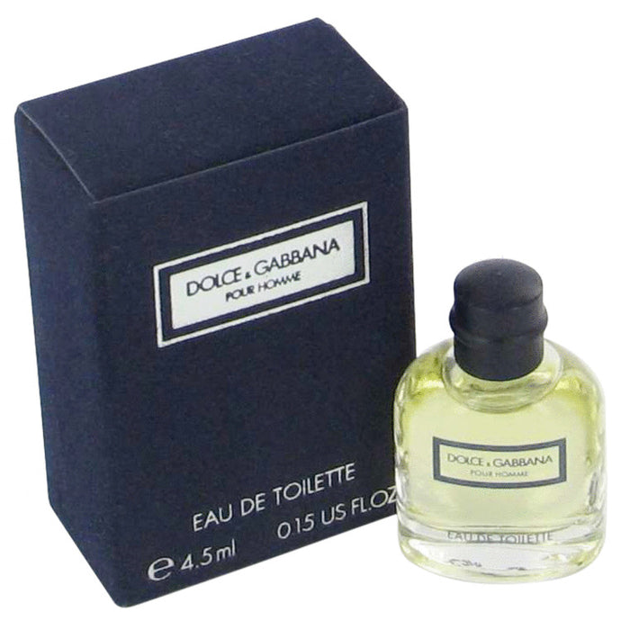 DOLCE & GABBANA by Dolce & Gabbana Mini EDT .15 oz for Men