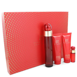 Perry Ellis 360 Red by Perry Ellis Gift Set -- for Women