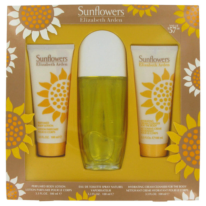 SUNFLOWERS by Elizabeth Arden Gift Set -- for Women