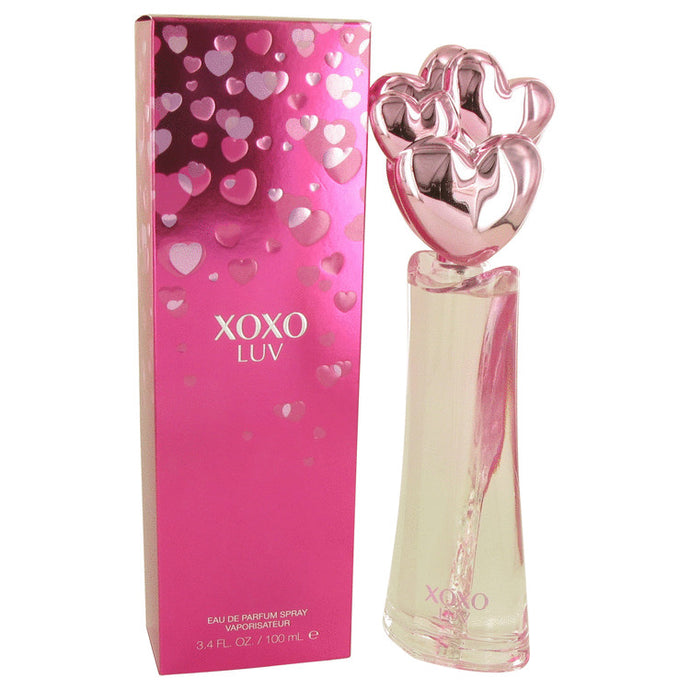 XOXO Luv by Victory International Eau De Parfum Spray 3.4 oz for Women