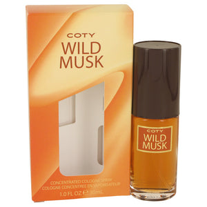 WILD MUSK by Coty Concentrate Cologne Spray 1 oz for Women